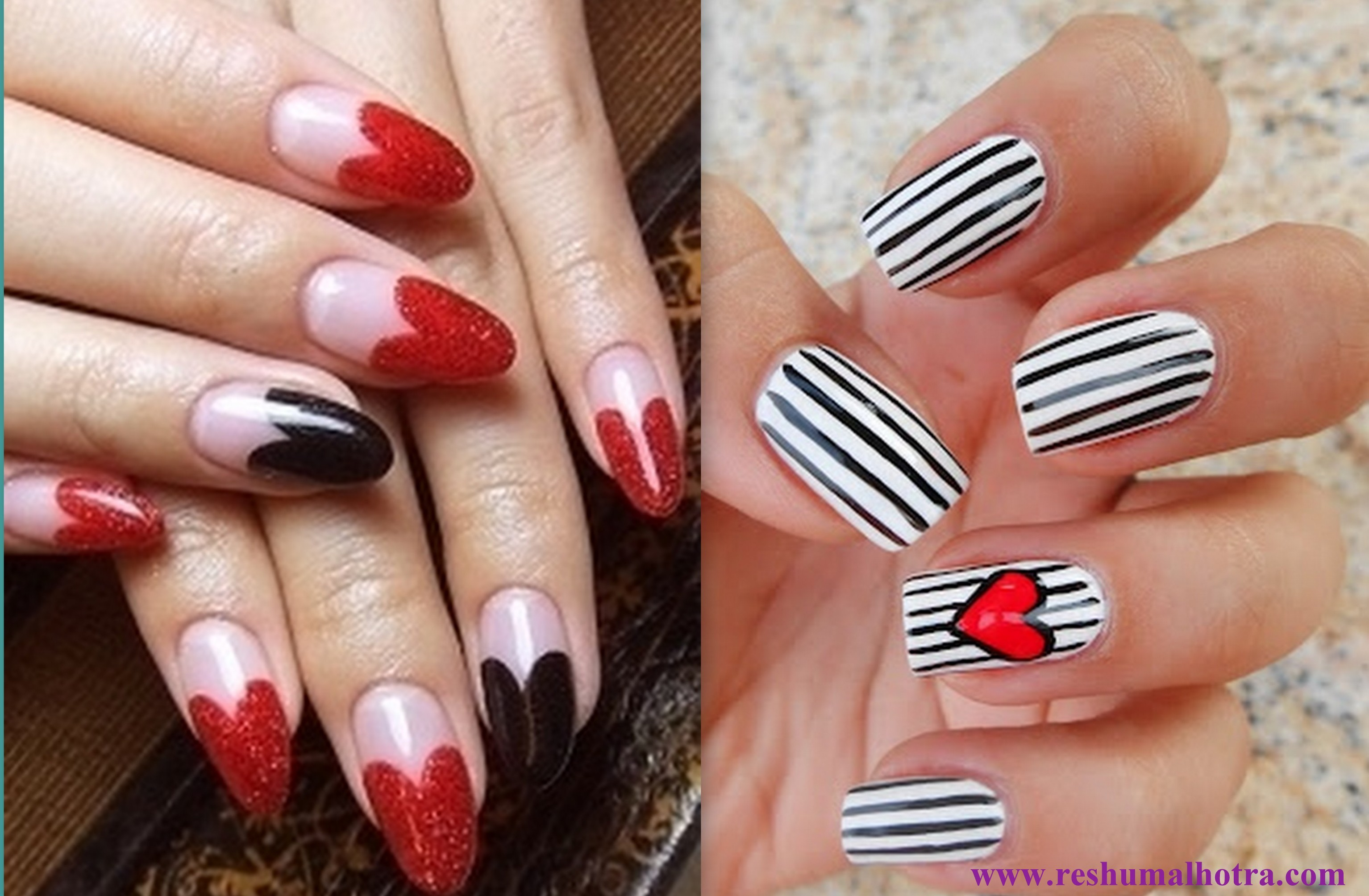 Glam Up Your Nails This Valentines Day Get Gorgeous Reshu Malhotra