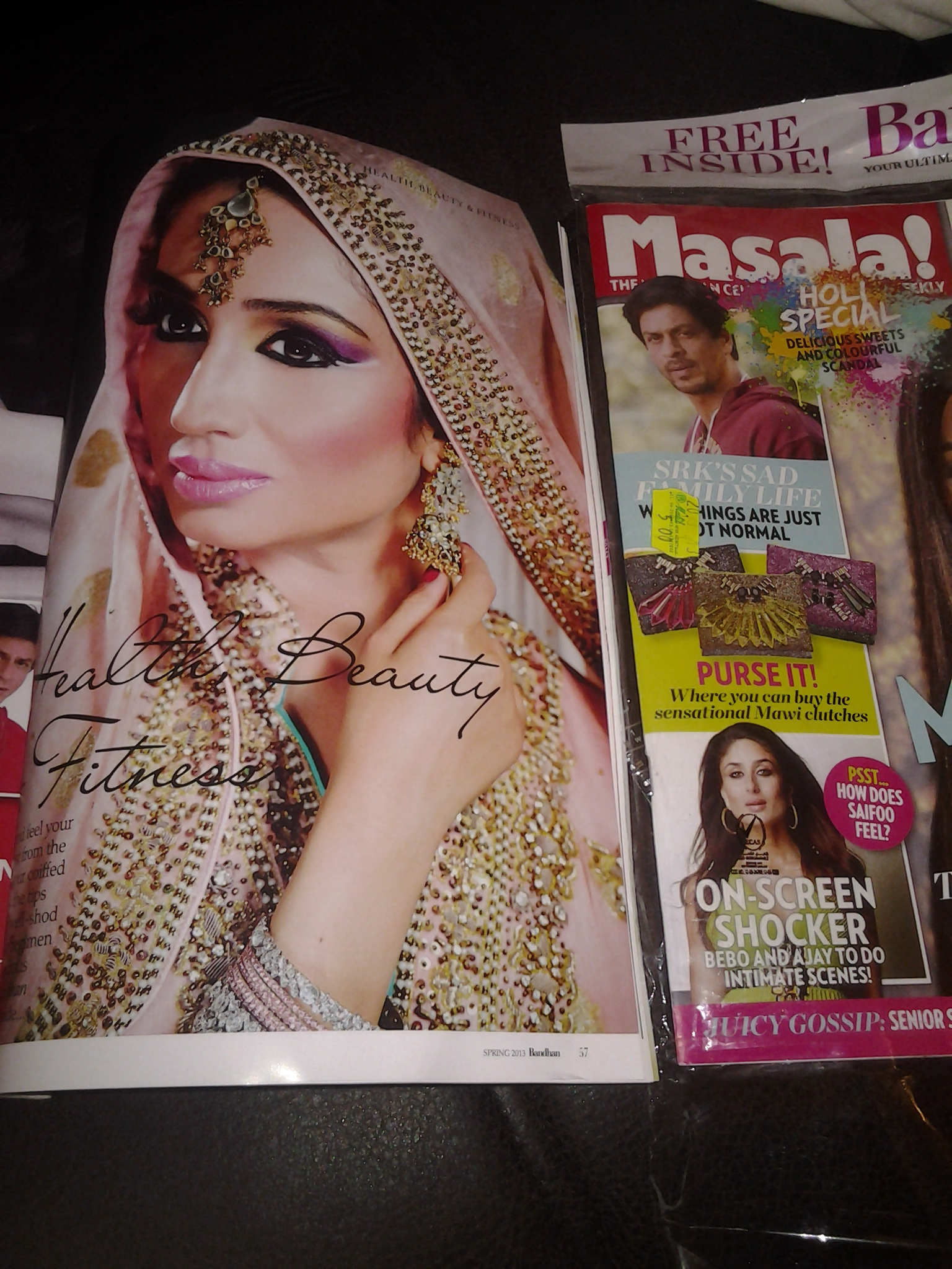 Dubai Makeup Artist/Beauty Blogger/Reshu Malhotra/Middle East/Masala Magazine/Bandhan Magazine