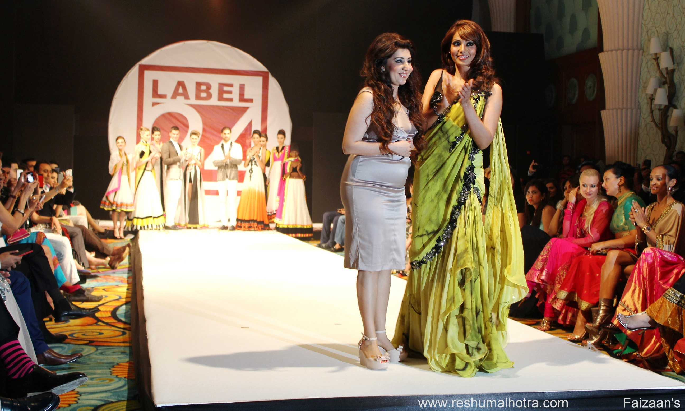 Archana Kochhar Fashion Show-Label24, Makeup fo Archana  by Reshu Malhotra /Dubai