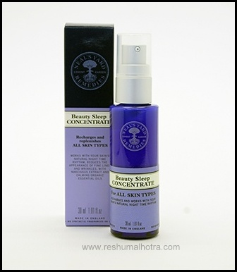 Neal's Yard Remedies/ Beauty Sleep concentrate/Dubai/Beauty Blogger