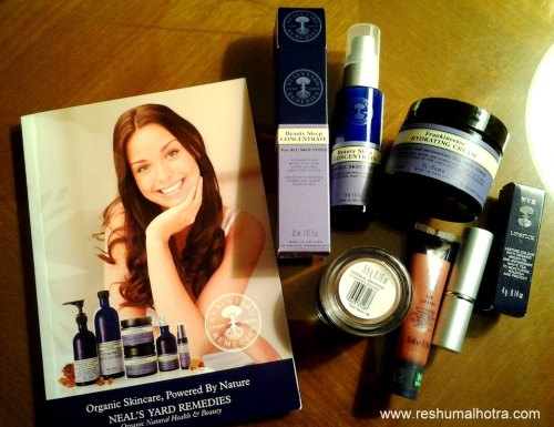 Goodies fromNeal's Yard Remedies /Organic/Dubai/Beauty Blog