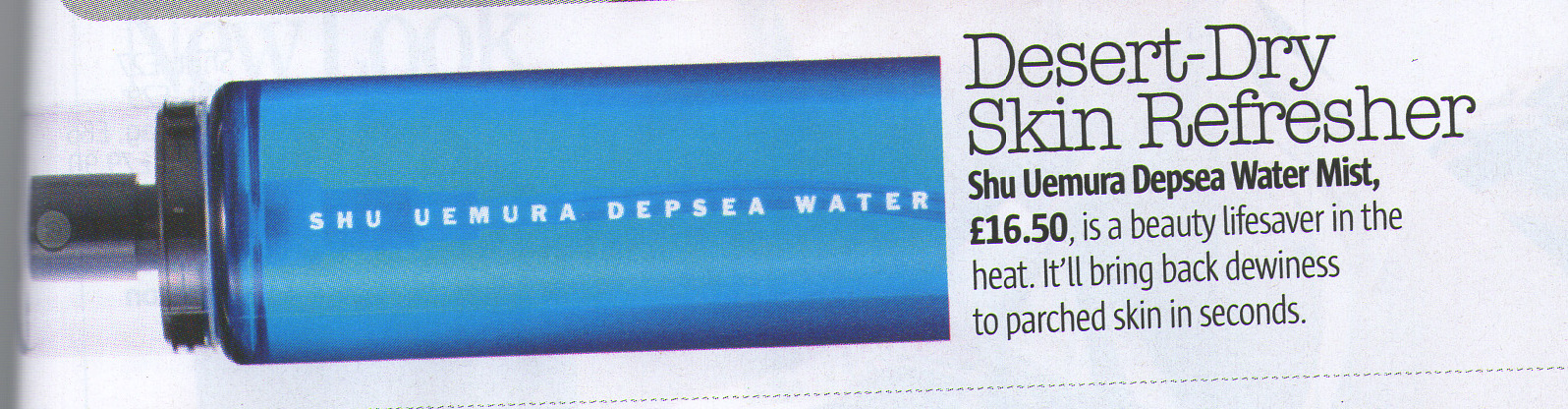 Skin Refresher/Dubai/Beauty Blogger/LOOK magazine/Shuemera