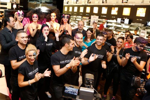 Make Up For Ever/Dubai/ studio launch/Sephora