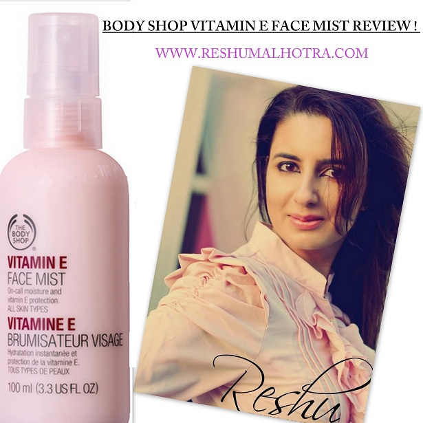THE BODY SHOP VITAMIN E FACE MIST /RESHU MALHOTRA