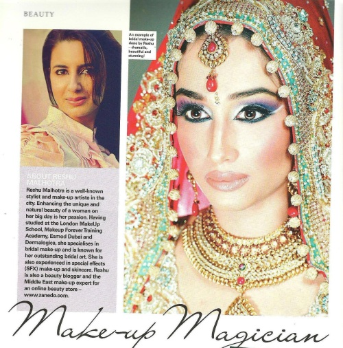 Featured in Ahlan Masala Middle East