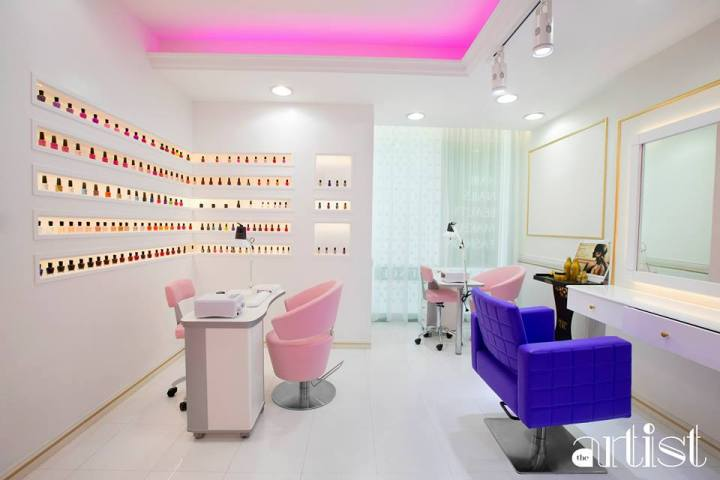 Nails at THE ARTIST BEAUTY LOUNGE-DUBAI