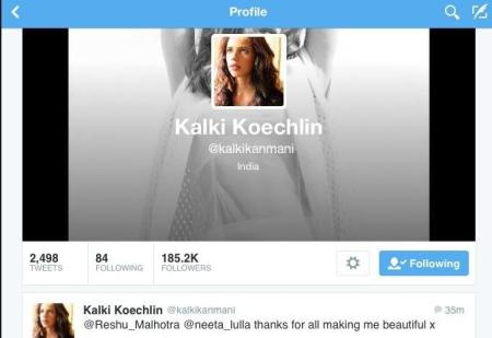 Thank You Kalki , You are a sweetheart !!