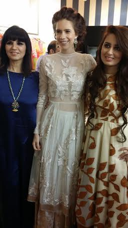 Neeta Lulla, Kalki Koechlin  & me