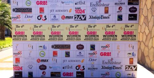 Gr8 Women Awards 2014 /Makeup & Styling by THE ARTIST Beauty Lounge