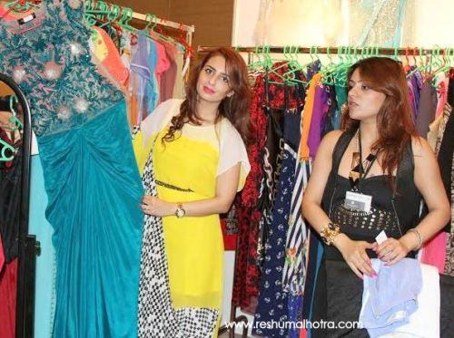 Designer Farah Sanjana at Numaish