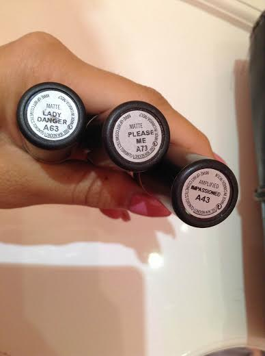 My 3 Favorite lipstick from Mac