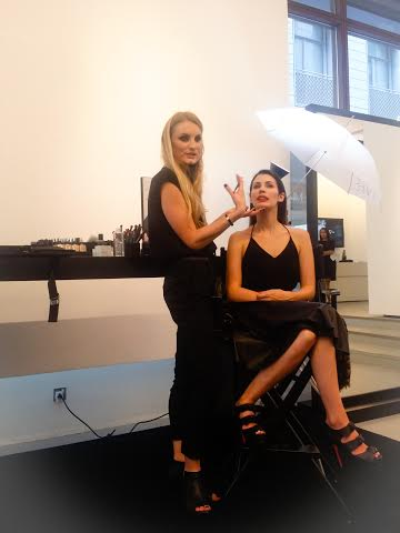 NARS International Makeup Stylist Anna Priadka MasterClass