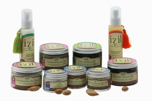 IZIL Natural Argan beauty  products