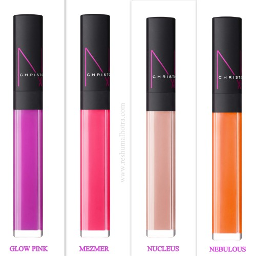 NARS Neoneutral lip glosses