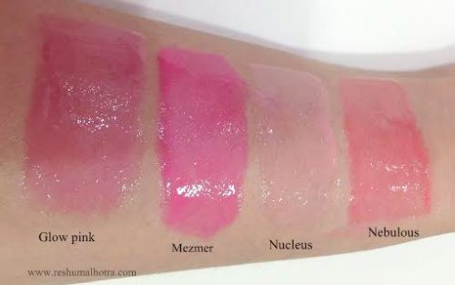 NARS Christopher Kane Neoneutral LipGlosses Swatches