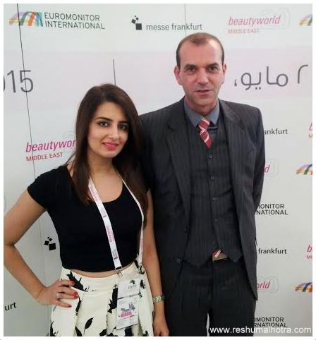 Ahmed Pauwels CEO Messe Frankfurt Middle East